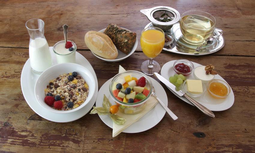 Café am Hebel Frühstück, Mittag, Kaffee und Kuchen (Speisen)